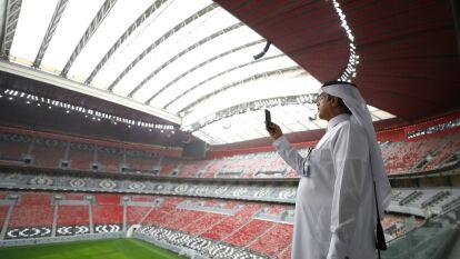 El estadio Al Bayt ya está listo y tiene una capacidad para 60,000 personas.