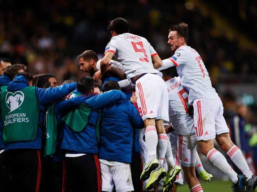Resultados de la jornada 8 rumbo a la Eurocopa 2020