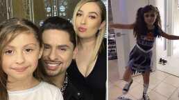 Daleyza, hija de Larry Hernández, se transforma en porrista zombie: 'Te miras muy bonita'