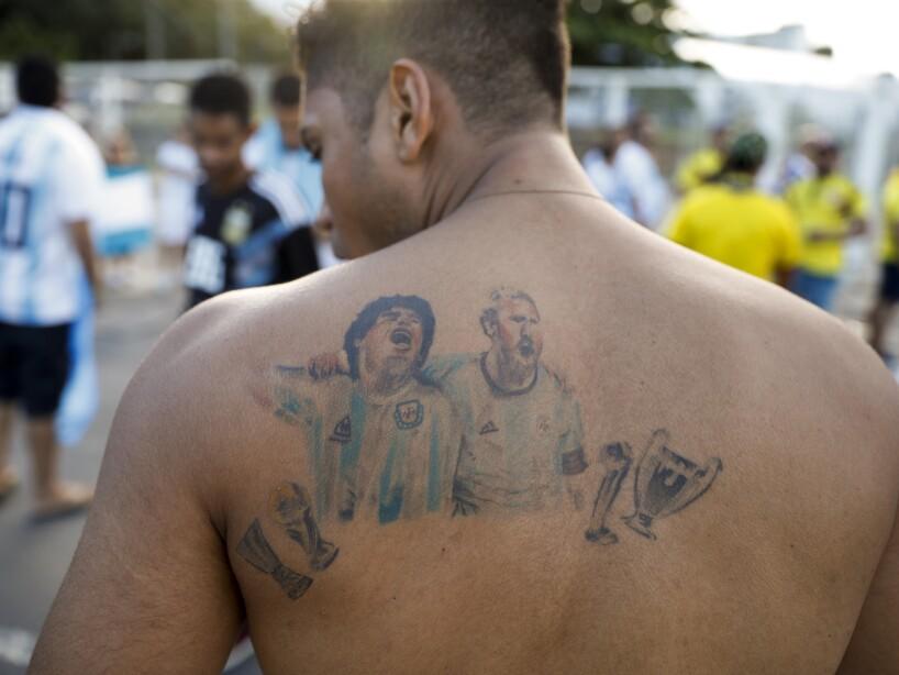 APTOPIX Brazil Soccer Copa America Argentina Colombia