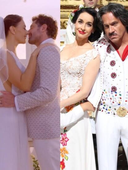 Estas telenovelas han mostrado que el amor verdadero siempre triunfa y lo han celebrado con una gran boda.