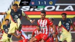 Necaxa y América empatan 1-1 en duelo vibrante en Aguascalientes
