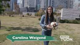 ¡Ella es Carolina Weigend en SomosTUDN!
