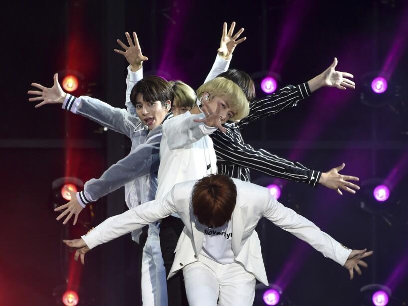 Así son los conciertos de K-Pop