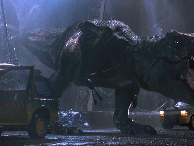 Tyrannosaurus (Jurassic Parl 1, 2 y 3): su nombre significa rey lagarto tirano, vivió hace unos 65 millones de años.