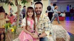 Luis Fonsi presume el talento de su hija Mikaela al cantar