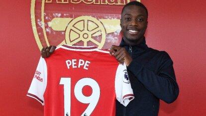 El extremo marfileño es la venta más cara de Ligue 1 y el africano más caro de la historia tras su llegada al Arsenal y el pago de 80 millones al Lille.
