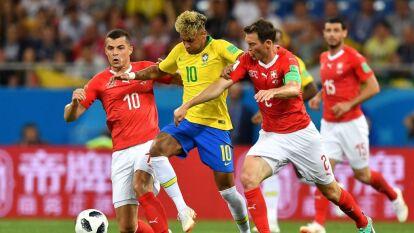 Con goles de Coutinho y Zuber, Brasil y Suiza empataron en aquel partido del Mundial de Rusia 2018.