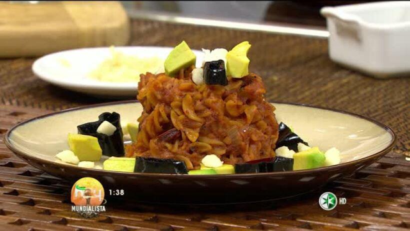 Cocina Chef Gibaja ´Pasta o Fideos Secos´ Hoy 24 junio