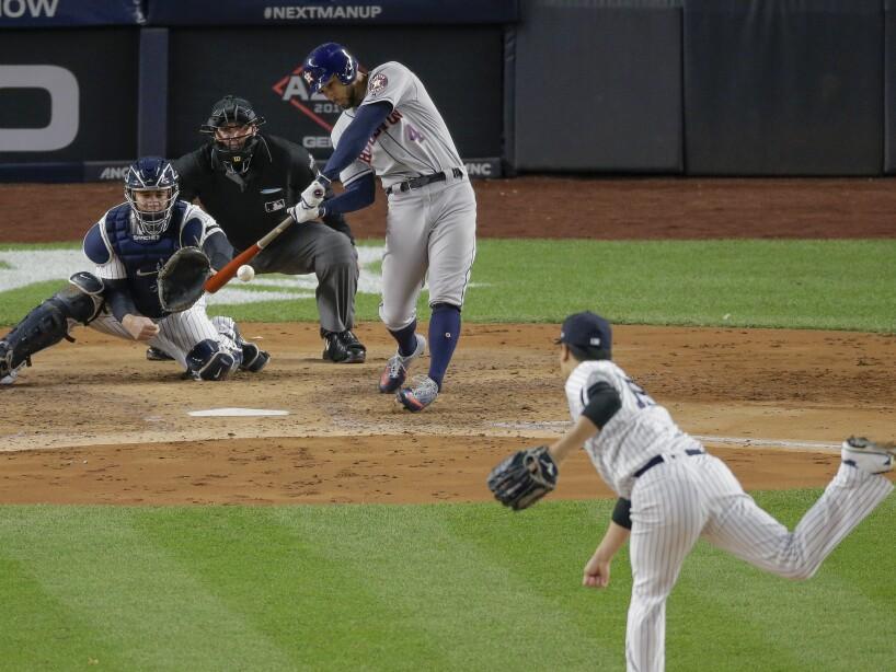 APTOPIX ALCS Astros Yankees Baseball
