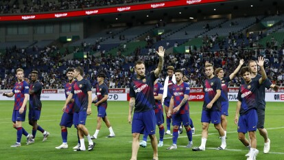 Barcelona pierde ante el Chelsea en Saitama