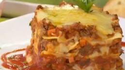 Receta: ¡Deliciosa lasagna!