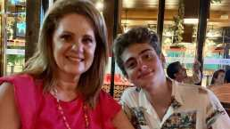 Hijo de Erika Buenfil muestra cómo lucía en su juventud la actriz: 'Qué guapa'