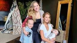 Geraldine Bazán confiesa que se le 'antoja' tener otro bebé tras conocer a André, hijo de Sherlyn