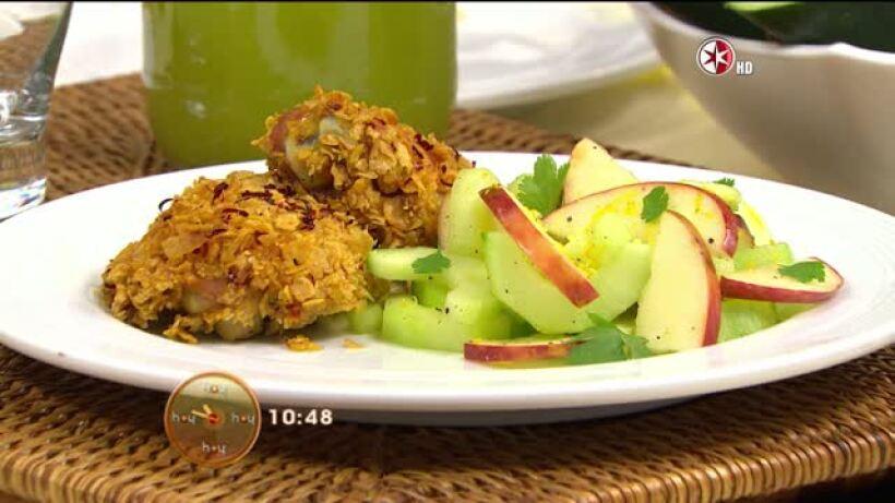 Cocina Chef Oropeza Muslos de Pollo Crujiente