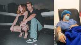 Briggitte Bozo se hizo unos arreglitos y así la consiente su novio en su recuperación