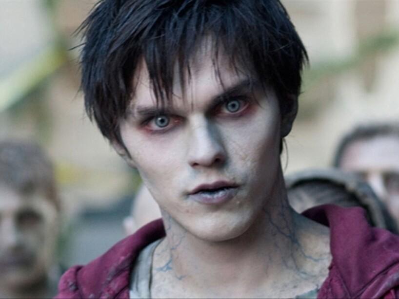 10. R de Warm Bodies: El muerto viviente más galán del cine, o sea Nicholas Hoult en Mi Novio es un Zombie.