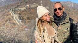 Andrea Legarreta recuerda la emotiva canción con la que Erik Rubín le pidió matrimonio