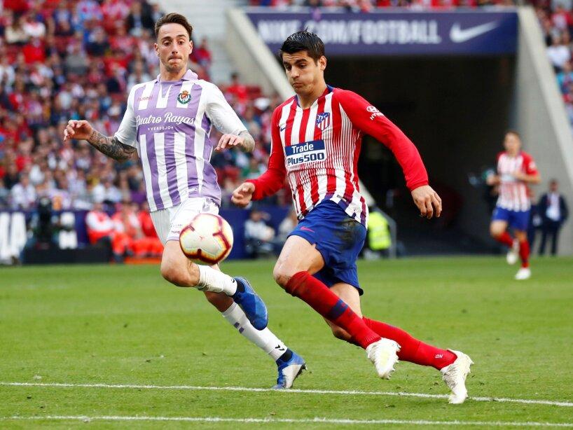 La Liga Santander - Atletico Madrid v Real Valladolid