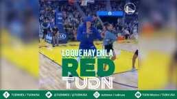 Juan Toscano pone el ambiente en la NBA