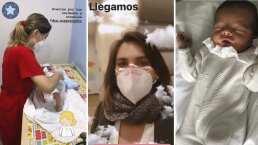 El bebé de Zoraida Gómez ya recibió sus primeras vacunas: 'Qué fuerte y qué valiente es'