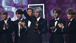 El detrás de cámaras de BTS en los GRAMMY Awards 2019