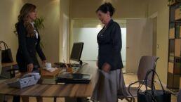María Isabel trata de burlarse de Victoria