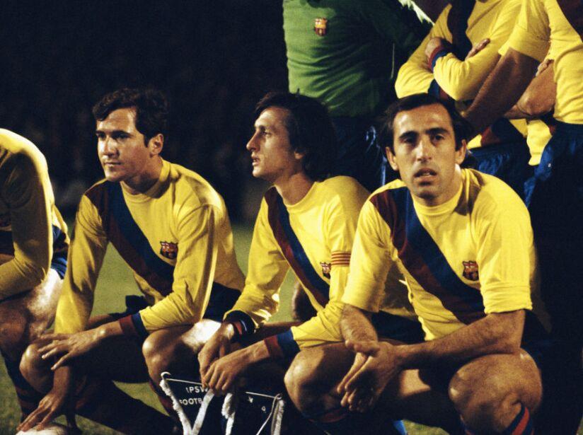 Johan Cruyff Barcelona 1977