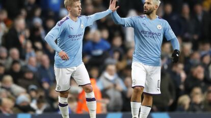 Manchester City 4-1 Port Vale.