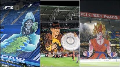 Se enchina la piel de ver estas imágenes que han quedado para la historia en distinto estadios de futbol.