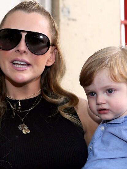 Marjorie de Sousa debutó como mamá el 27 de enero de 2017 del pequeño Matías, fruto de su relación con Julián Gil. Para celebrar su tercer cumpleaños, la actriz le organizó una gran fiesta que tuvo como tema central a los personajes de las películas de 'Toy Story'.