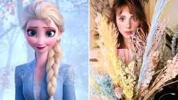 Natalia Téllez se transforma en Elsa de 'Frozen' y lo hace con divertido filtro de Instagram