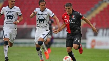 Con doblete de Juan Igancio Dinenno, los Pumas continúan con su racha perfecta en el Guard1anes 2020 de la Liga BBVA MX.