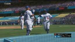 ¡Los Dodgers muestran todo su poder! Betts batea HR y ya ganan 6-2