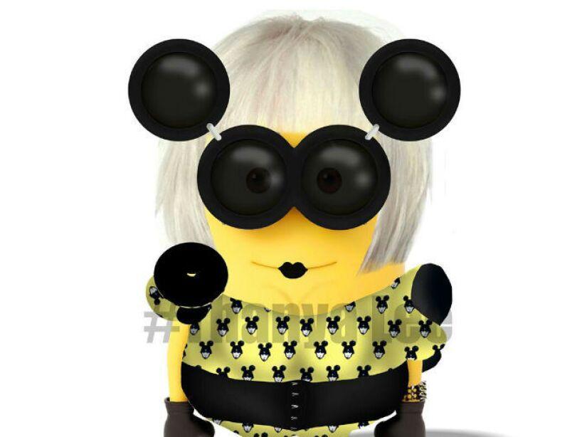 Lady Gaga: Esta excéntrica cantante no podía faltar en su versión salida de Mi Villano Favorito.