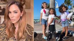 Entre brochas y esponjas: las hijas de Jacky Bracamontes están listas para convertirse en maquillistas