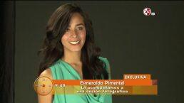 Esmeralda Pmentel lista para su primer protagónico