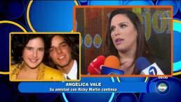 Angélica Vale y Ricky Martín ¡Una amistad eterna!