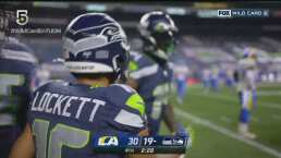 ¡No se rinden! Metcalf logra otro touchdown para Seahawks