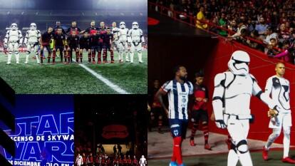 Una noche dedicada a Star Wars, así fue como se presentó Xolos para su partido de la Fecha 18 ante Rayados.