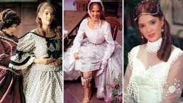 Así se preparaba Adela Noriega para lucir los glamurosos vestidos de Matilde Peñalver en 'Amor real'