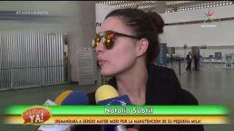 ¡Natália Subtil demandará a Sergio Mayer Mori!