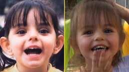 """""""¿Será que nos parecemos?"""": Aislinn Derbez compara una foto de su infancia con una de Kailani"""