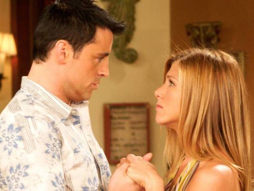 Friends Ross Y Rachel Terminan Juntos