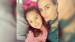 Video: Así se maquilla Odalys Ramírez, según su hija Gia