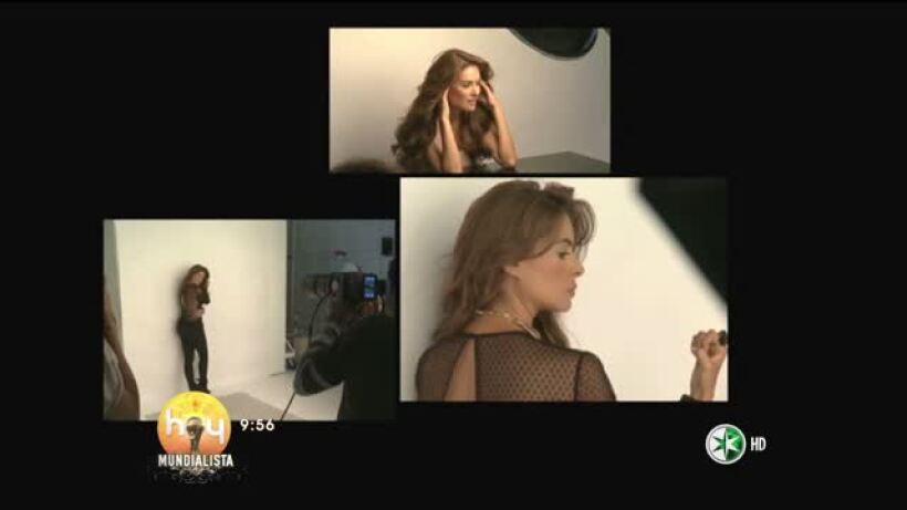 Galilea Montijo en portada de revista