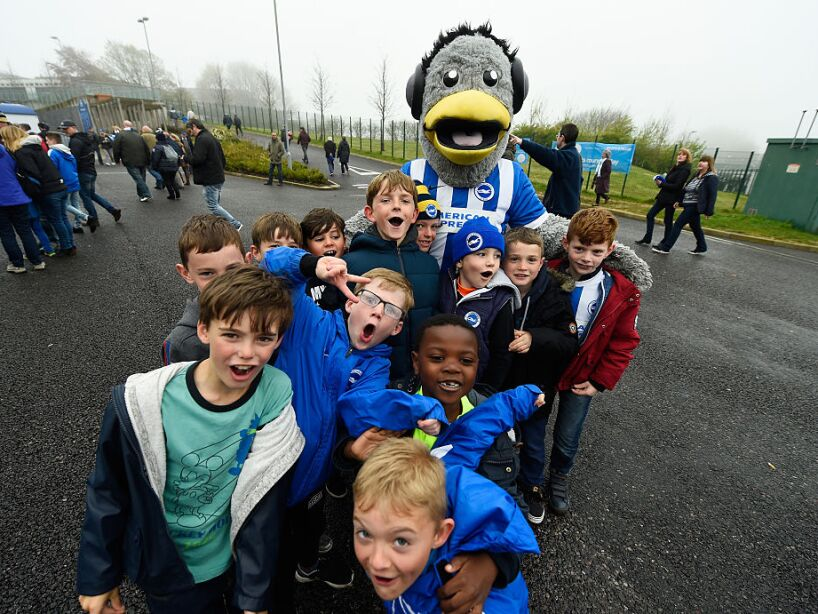 Brighton and Hove Albion v Derby County - Sky Bet Championship