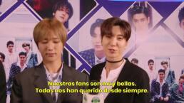 EXCLUSIVA: Super Junior celebra ser un fenómeno global gracias a su dedicación y el amor de sus fans
