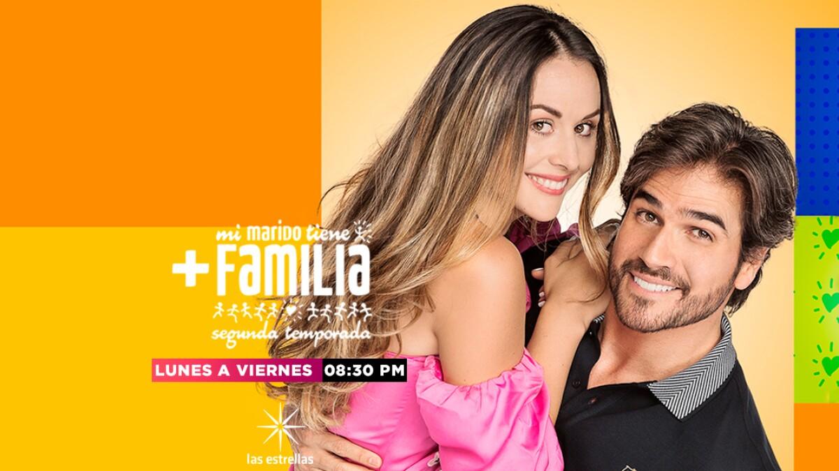Mi marido tiene más familia   Telenovelas   Las Estrellas TV