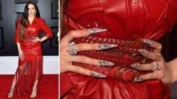 Rosalía se hizo su increíble manicure para los Grammy ¡en un auto!